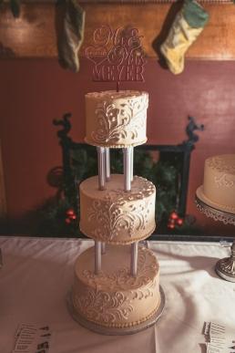 wedding cake three tier